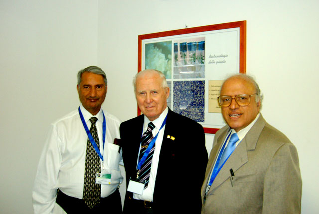 Drs. Khush, Norman Borlaug and Swaminathan